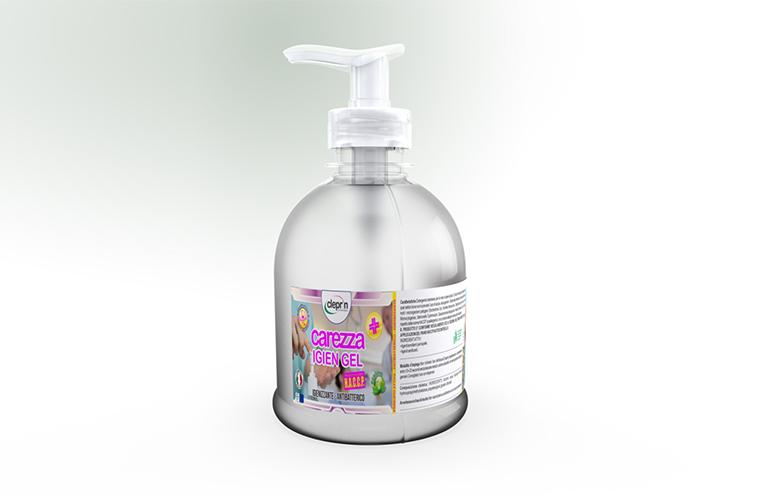 gel mani igienizzante detergente
