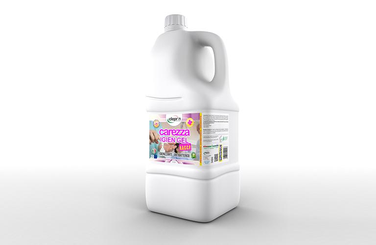 prodotto disinfettante carezza igien gel formato 5 litri